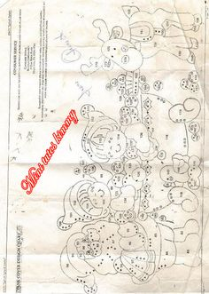 Resultado de imagen para moldes de muñecos de navidad para imprimir Christmas 2016, Christmas Art, Christmas Stockings, Christmas Decorations, Christmas Ideas, Felt Crafts, Diy And Crafts, Xmas Tree Skirts, Wool Applique