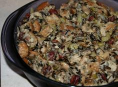 Cranberry Wild Rice Stuffing