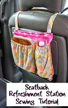 PICTORIAL: Seat Belt Cozy Cover | Cozy cover, Wren and Scrap