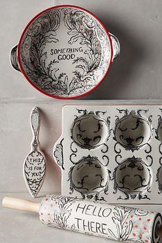 Crowned Leaf #Bakeware #Anthropologie
