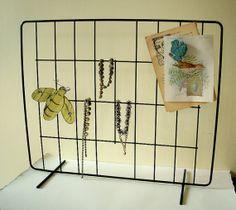 Industrial Display Rack Vintage Office Craft by VintageBroad, $22.00