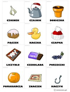 Learn Polish, Carol Songs, Polish Words, Polish Language, Idioms, Kids Education, Speech Therapy, Fun Facts, Teaching
