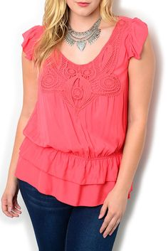 http://www.dhstyles.com/Coral-Plus-Size-Girly-Crocheted-Embroidered-Cinche-p/zeno-1929x-coral.htm