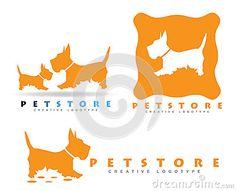Logotipo de la tienda de animales