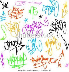 stock-vector-vector-graffiti-tags-writing-149500136.jpg (448×470)