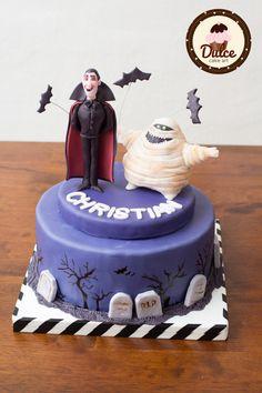 Torta Hotel Transylvania in pdz #cake #cakedesign #hoteltransylvania Mais