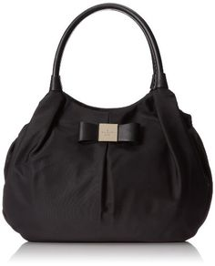 #hot  kate spade new york Veranda Place Nylon Karen Shoulder Bag,Black,One Size