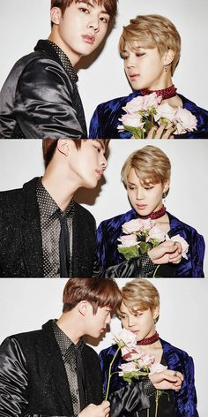 JIN & JM Gente... para de me iludir! Desgraça -_->> too much beauty in one frame wtf