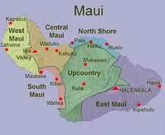 printable map of maui hawaii - Google Search