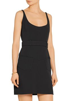 Shop on-sale TOM FORD Belted stretch-cady mini dress. Browse other discount designer Dresses & more on The Most Fashionable Fashion Outlet, THE OUTNET.COM
