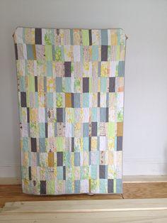 plain spoken low volume quilt by dorathy, via Flickr lovely colors