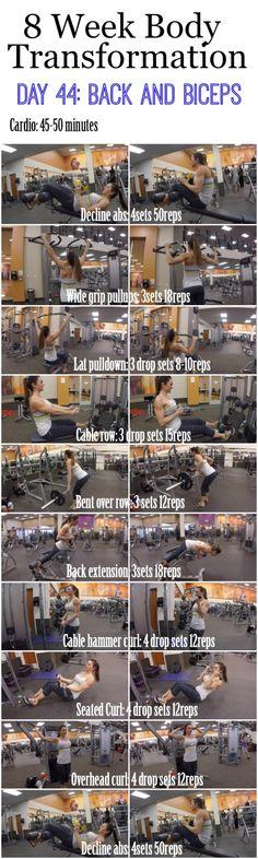 Kelsi.Sasser — 8 week body transformation  Day 44