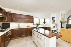 Kitchen Island - Blessing in disguise. Check this kitchen island out here http://selfbuild.ie/case-studies/blessing-in-disguise/