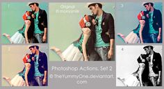 Photoshop Actions, Set 2  by ~TheYummyOne