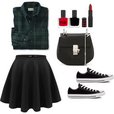 Same as yours baby by uchirani on Polyvore featuring polyvore, fashion, style, Converse, Chloé, Rimmel and RGB