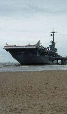USS Lexington. Corpus Christi, Texas.