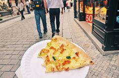 여행, 유럽여행,  유럽음식, 먹방, 체코, 체코뜨르들로, 체코피자