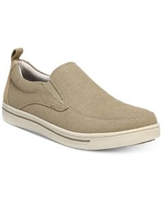 Dr. Scholl's Men's Langham Slip-On Sneakers - Tan/Beige 10
