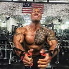 The Rock, Dwayne Johnson, diet, exercise - 11 reasons why The Rock is more than just a pretty face The Rock Dwayne Johnson, Rock Johnson, Dwayne The Rock, Fitness Gym, Mens Fitness, Fitness Models, Fitness Motivation, Bodybuilder, Johny Depp