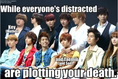 Jonghyun is the one distracting everyone's attention!