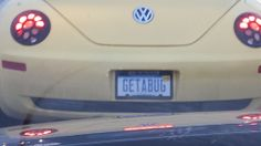 On a Volkswagen   License plates vanity tags