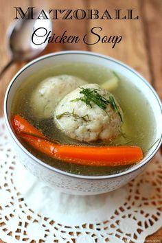 Authentic Matzoball Chicken Soup...The Real Jewish Penicillin, ,
