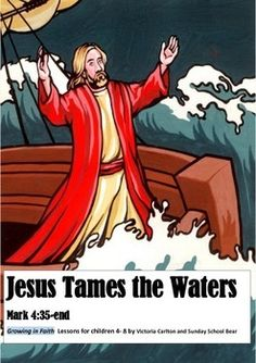 A comprehensive learning package to help children understand  story in Mark 4 about Jesus taming the storm.A very full lesson plan is provided along with songs, poem, stimulus pictures and suggested art and drama activities.There is a parent feedback page so you can let parents know what you have covered this week.My lessons are part of my GROWING IN FAITH Sunday School curriculum to accompany the Liturgical Year followed by many Churches.The lessons will also work well as stand-alone ones.