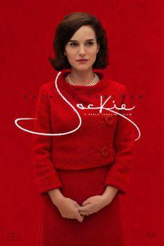 Natalie Portman nella locandina di Jackie.