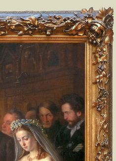 V Pukirev The Unequal Marriage 1862 detail sm