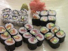 So many people are so fanatically in love with sushi. I want to know exactly why you like it? Comment below.   #SushiRecipe #FoodAroundTheWorld  https://www.youtube.com/watch?v=eLRL18LvVyo  How To Make Simple And Delicious Sushi(1/2) - YouTube