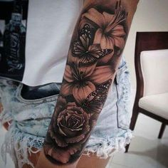 Bam Margera Tattoos, Tiger Tattoo Patterns, Cute Zodiac Tattoos, Best Male Celebrities … – tattoos for women half sleeve Unique Half Sleeve Tattoos, Full Sleeve Tattoos, Tattoo Sleeve Designs, Half Sleeve Tattoos Forearm, Arm Sleeve Tattoos For Women, Pretty Tattoos, Cute Tattoos, Body Art Tattoos, Hand Tattoos