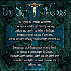 ~The Sign Of The Cross