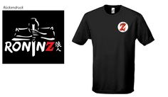 Men´s Basic T-Shirt Imperial black RoninZ Edition