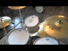 5 Easy Rock Beats for the Beginning Drummer - Easy Drum Lesson - How To Play Drums