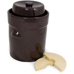 K/&K Keramik German Gartopf Fermenting Crock Pot~ Hand Crafted in Germany ~ F-2