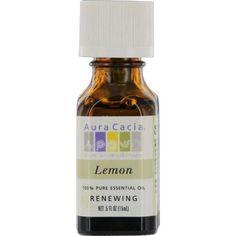Essential Oils Aura Cacia Lemon-essential Oil .5 Oz By Aura Cacia