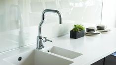 LA CUCINA ALESSI by Oras kitchen faucet 8535 - like a sculpture!