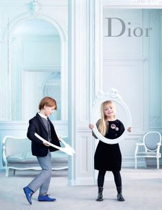 Sophie Delaporte - Photos - DIOR - Kids