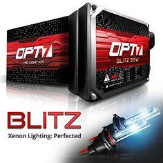 Lightning Blue Xentec Xenon bulb H1 8000K x 1 pair bundle with 2 x 35W Digital Ballast