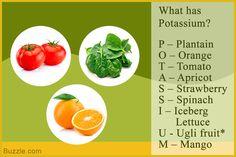 diet for high potassium levels | Potassium Rich Foods - List of Foods High in Potassium