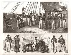 New item in my etsy shopNaval Officers and crew copy of vintage engraving from 1850s encyclopedia by J G Heck engraved by Henry Winkles by PanchromaticaDesigns. Find it here http://ift.tt/20mPobT