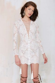 The Jetset Ruins Lace Dress | Shop Best Sellers at Nasty Gal