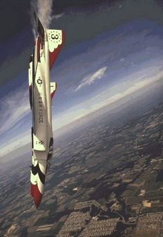 U.S. Air Force Thunderbirds on F4 Phantom