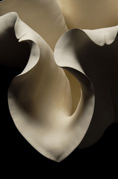 sensual, flowing, rounded, layered, color, pale, movement, contrast