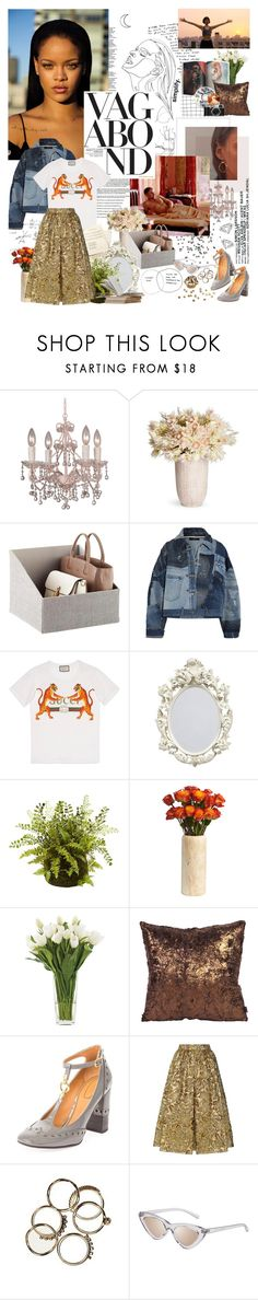 """dear lover i'm incapable of saving your heart this time; but if you wanna i'll pretend to be your hero for just tonight."" by youarebeautifulmydarling on Polyvore featuring Crystorama, Puma, Vagabond, Dolce&Gabbana, Gucci, Enzo, NDI, Howard Elliott, Chloé and Prada"