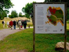 """SWEDEN. Birka and Hovgården. """"Together they make up an archaeological complex which illustrates the elaborate trading networks of Viking-Age Europe and their influence on the subsequent history of Scandinavia. Birka was also...the site of the first Christian congregation in Sweden, founded in 831 by St Ansgar."""""""