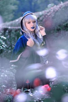 Two Layered Cloak // 2 tiered teal turqoise blue velveteen and