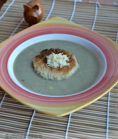 Lencse krémleves füstölt sajttal Pancakes, Pudding, Breakfast, Desserts, Food, Morning Coffee, Tailgate Desserts, Deserts, Custard Pudding
