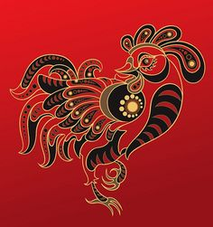 Clipart of Chinese horoscope. Year of monkey - Search Clip Art, Illustration Murals, Drawings and Vector EPS Graphics Images - Chinese Zodiac Rooster, Chinese Zodiac Rabbit, Chinese Zodiac Signs, Medical Illustration, Art Et Illustration, Illustrations, Zodiac Sign Quiz, Rooster Vector, Chinese Astrology