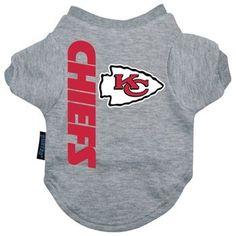 Kansas City Chiefs Dog Tee Shirt - Extra Large